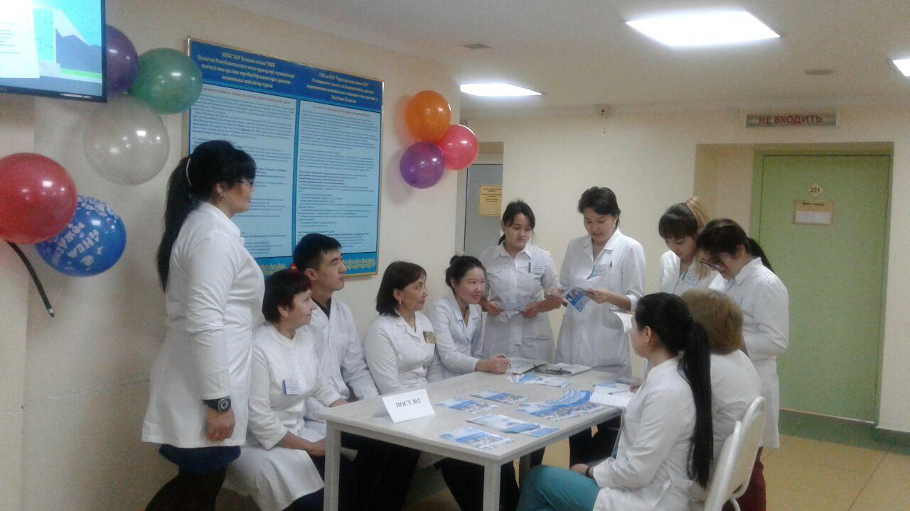 В поликлинике проведена информационно-разъяснительная работа